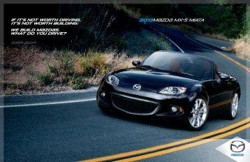 2013M{zd{ mx-5 miata - Mazda