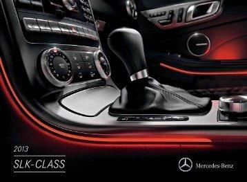 2013 Mercedes-Benz SLK-Class - Motorwebs