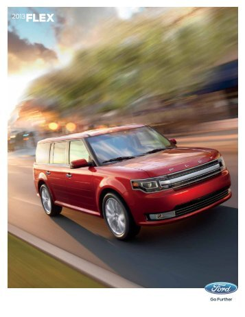 2013 Ford Flex Brochure - ClickMotive