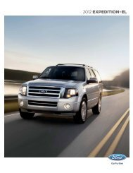 2012 Ford Expedition Brochure - Motorwebs