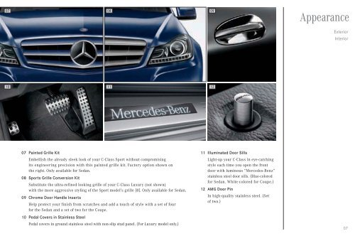 Genuine Mercedes-Benz Accessories - Mercedes-Benz USA