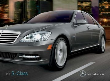 2012 Mercedes-Benz S-Class - Mercedes-Benz USA