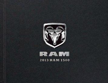 2013 Ram 1500 - Motorwebs
