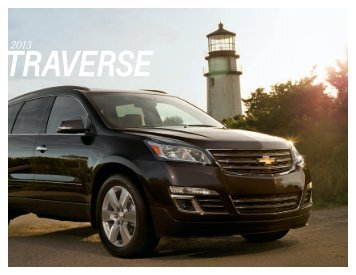 Traverse Brochure - Chevrolet