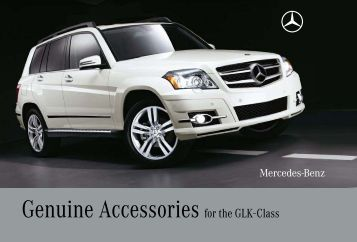 Genuine accessories for the e class mercedes benz canada for Mercedes benz glk350 accessories