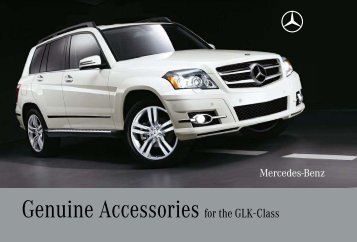 Genuine Accessories for the GLK-Class - Mercedes-Benz USA