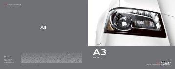 Audi A3 - Motorwebs