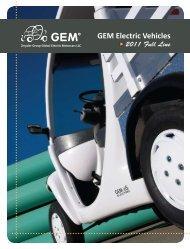 GEM Electric Vehicles - Motorwebs