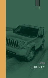 2012 Jeep Liberty - Chrysler Commercial Vehicles