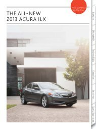THE ALL-NEW 2013 ACURA ILX - Motorwebs