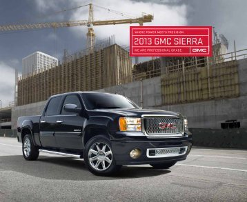 2013 GMC sierra - GMC.com