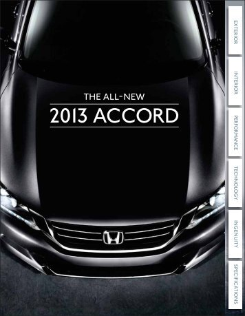 2013 ACCORD - Motorwebs
