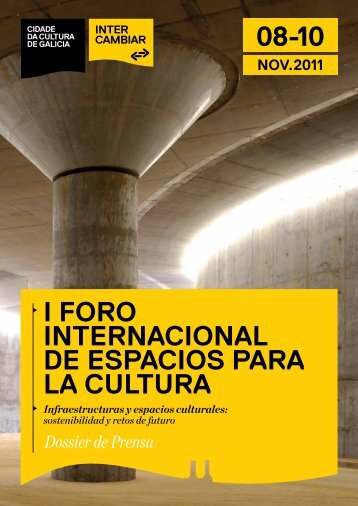 i foro internacional de espacios para la cultura - Centro Niemeyer