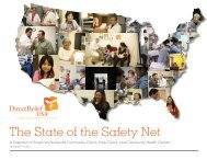 The State of the Safety Net - Direct Relief International