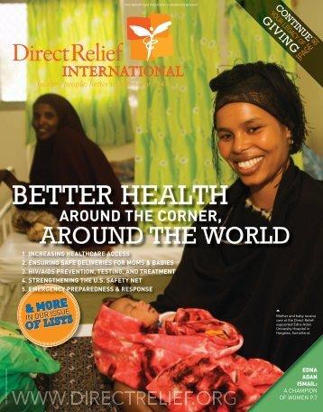 Fall 2010 - Direct Relief International