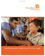 Winter 2006 (PDF) - Direct Relief International