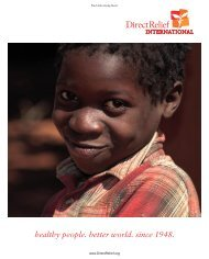 Winter 2005 (PDF) - Direct Relief International