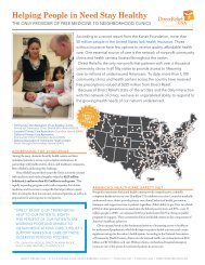 Safety Net Support - Direct Relief International