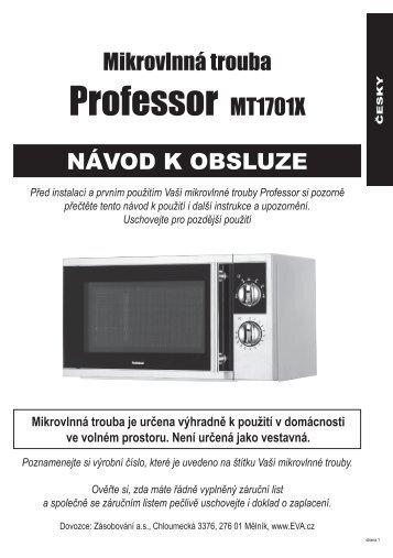 Professor MT1701X - EVA.cz