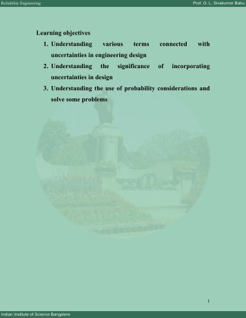 Module 1 - E-Courses