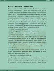 Module 7: Inter-Process Communication - E-Courses