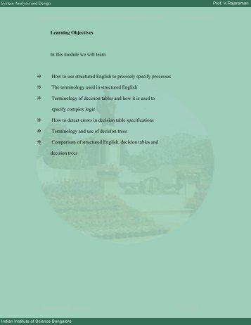 Module 6 - E-Courses