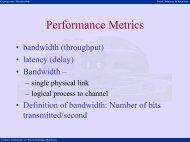 Performance Metrics - nptel - Indian Institute of Technology Madras
