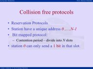 Collision free protocols - nptel - Indian Institute of Technology Madras