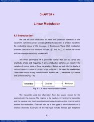 Linear Modulation - nptel - Indian Institute of Technology Madras
