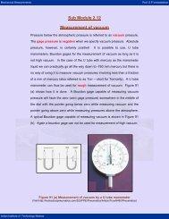 Sub Module 2.12 Measurement of vacuum - nptel - Indian Institute of ...