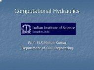 Computational Hydraulics (Web) - E - nptel