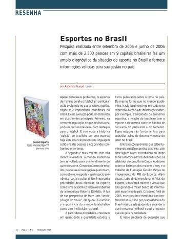 Texto na íntegra - RAE Publicações - Fundação Getulio Vargas