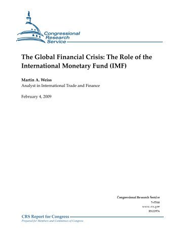 role of the international monetary fund essay And the international monetary fund role of international financial institutions in disaster role of international financial institutions in.