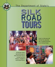 2023 Silkroad Brochure - Foreign Press Centers - US Department of ...