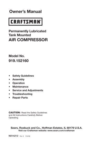 Sa 2018 Compressor Maintenance Manual