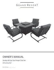 OWNER'S MANUAL - Sears