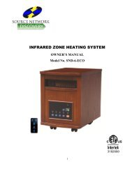 INFRARED ZONE HEATING SYSTEM