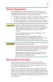 Satellite® A350 Series User's Guide - Kmart - Page 7