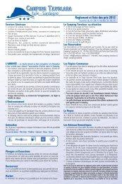 Tarifs PDF - Camping Tavolara