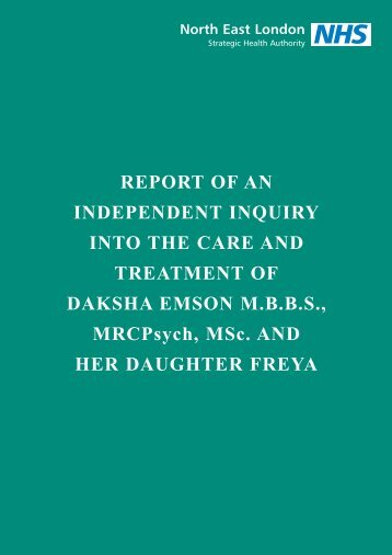 inquiry report - Simply Psychiatry