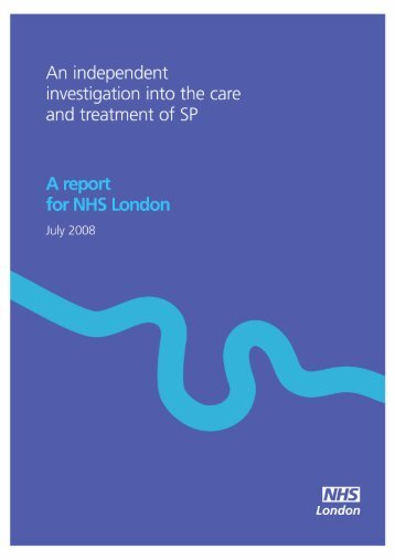 An independent investigation into the care and ... - Hundred Families