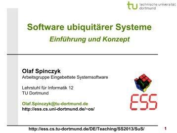 SuS-01.1: Einführung und Konzept - TU Dortmund