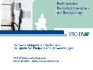 MORE - Innovationen - Embedded System Software Group - TU ...