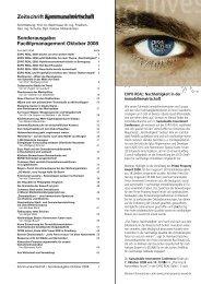 Facilitymanagement Oktober 2008 - Kommunalverlag
