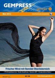 Gempress Mai 2012 (675 KB) - .PDF - Gemdat OÖ