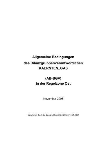 Allgemeine Bedingungen des ... - Kelag