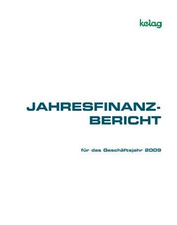 JAHRESFINANZ- BERICHT - Kelag