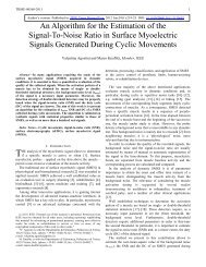 An Algorithm for the Estimation of the Signal-To-Noise Ratio in ...