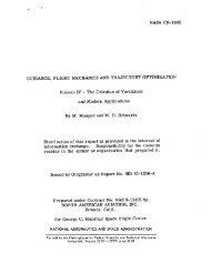 NASA CR-1003 GUIDANCE, FLIGHT MECHANICS AND ...