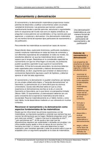 Razonamiento y demostración - Xtec